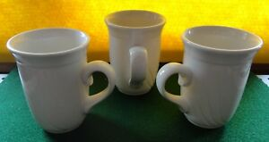 3 DUDSON Armorlite Finest Vitrified Coffee Cup Mugs STOKE ON TRENT ...