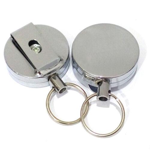 Schlüsselanhänger Ring Recoil Schlüsselanhänger Schwerlast Edelstahl-Kabel Draht