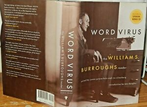 Word-Virus-the-Williams-Burroughs-Reader-Includes-Spoken-Word-CD-Ist-Edition