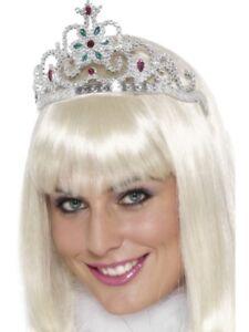 Fiore-Jewelled-diadema-principessa-Adulto-Donna-Smiffys-Costume-Accessorio