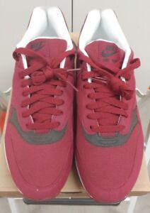 1a5078fbd93b DS NIB Nike Air Max 1 Team Red Velvet Brown Size 10 308866-601 ...