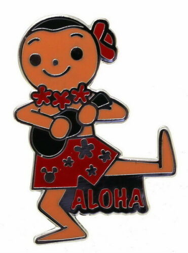 Disney Small World Hawaiian ukulele player Pin