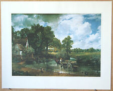 The Haywain - Constable - 600 x 483 mm - Genuine Litho Print