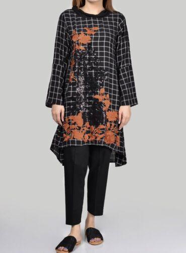 Limelight Original-Latest 2019-Printed Lilen Shirt-Pakistani Wear Sizes-S-M /& L