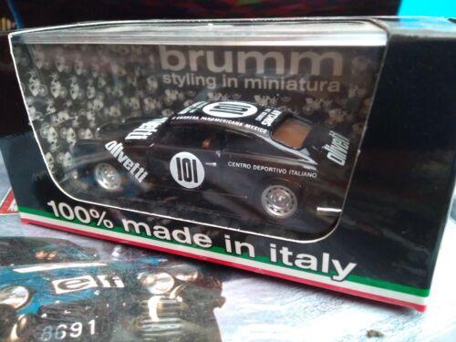 BRUMM 1//43 LANCIA AURELLA B20 COUPE CARRERA PANAMERICANA MEXICO 1951 NEUF BOITE