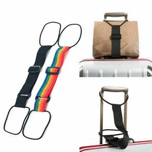 Add-a-Bag-Luggage-Strap-Straps-Baggage-Suitcase-Nylon-Belt-Travel-Adjustable