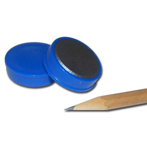 Pinnwand Magnete rund farbig bunt D30x8 mm Haftmagnete Büro Haushalt Kühlschrank
