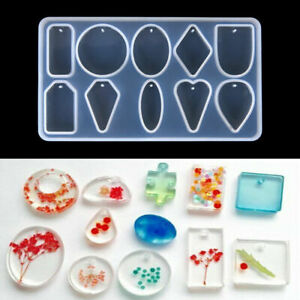 Petal 1 Silicone Resin Mold For Diy Jewelry Pendant Mould Handmade Craft Hot