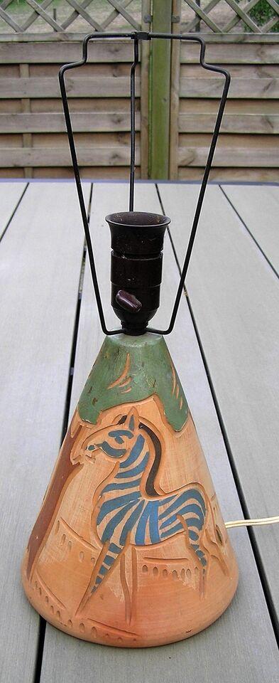 Sengelampe, Keramik lampe
