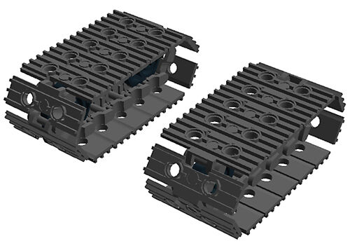 Sprockes Lego Large Tread Links technic,mindstorms,robot,excavator,bulldozer