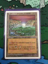 Brushland - LP - 5th Edition Core Set Fifth MTG Magic Cards Rare Land