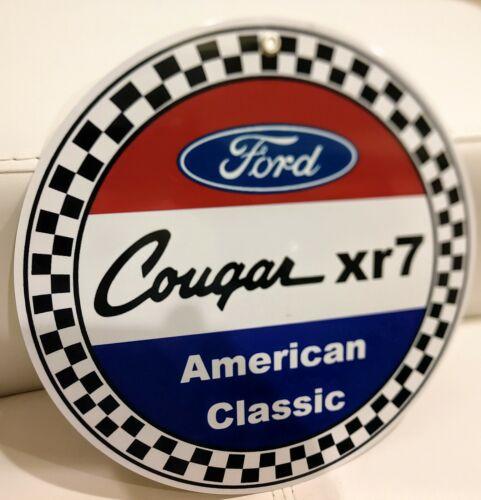 Ford Mercury Cougar xr7 Sign