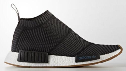Adidas NMD CS1 City Sock PK Size 11 Ultra Boost Primeknit Black Gum BA7209
