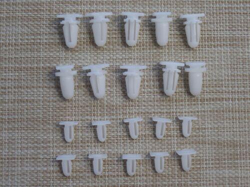 20x einstiegsleisten protección de bordes puerta clips para bmw 3er 5er 7er x1