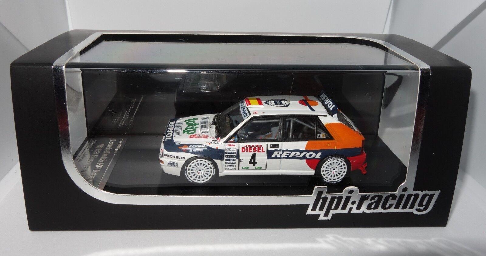 HPI 976 1 43 Lancia Delta HF Integrale Rallye Sanremo 1993 Sainz RARE