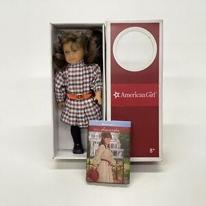 American-Girl-2007-Samantha-6-034-Mini-Doll-in-Box-With-Book-GCASR