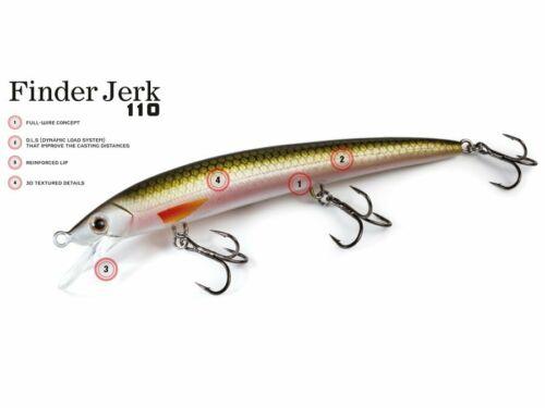 MOLIX Finder Jerk 110 SS 11cm 9g Slow Sinking Bait Colors