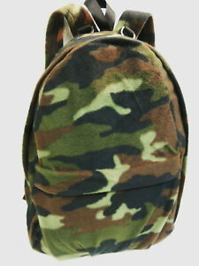Quiet KELLY DAY PACK Fleece Woodland Camouflage/Camo Hunting Archery Photography