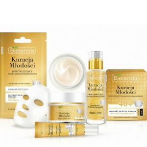Bielenda-Jugend-Behandlung-Anti-Falten-Gold-und-Snail-Gesichtscreme-Serum-Maske