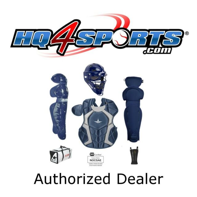 All Star Players Series Ckcc79ps Junior Youth Catchers Gear Set Navy