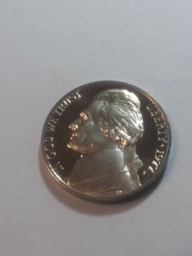 1977 S Proof United States Jefferson Nickel 5c Coin