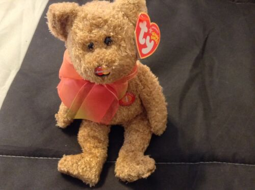 Anniversary Edition 4 MC Mastercard Beanie Bear brand new exclusive never sold