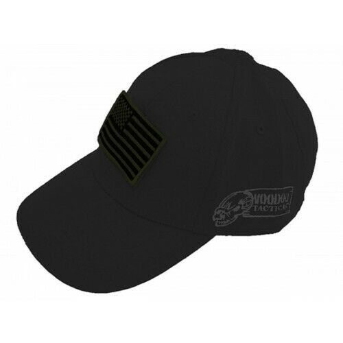Voodoo Tactical 20-9351014000 Men/'s Grey Contractor Cap w//USA Patch OSFM