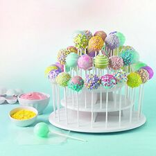 Sweet Creations Cupcake and Cake Pop 3-Tier Display Stand