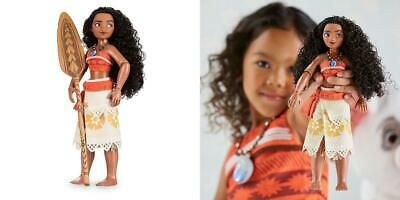 """New Disney Store Exclusive Authentic Moana Classic 11/"""" Inch Doll"""