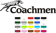 4 Coachmen Decals LARGE colors RV sticker graphics trailer camper rv coachman US