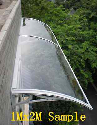 1Mx7M DIY Outdoor Window Awning/Patio Cover