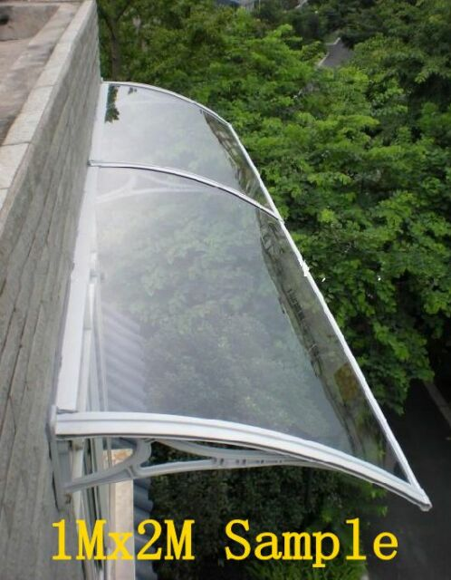 1Mx6M DIY Outdoor Window Awning/Patio Cover