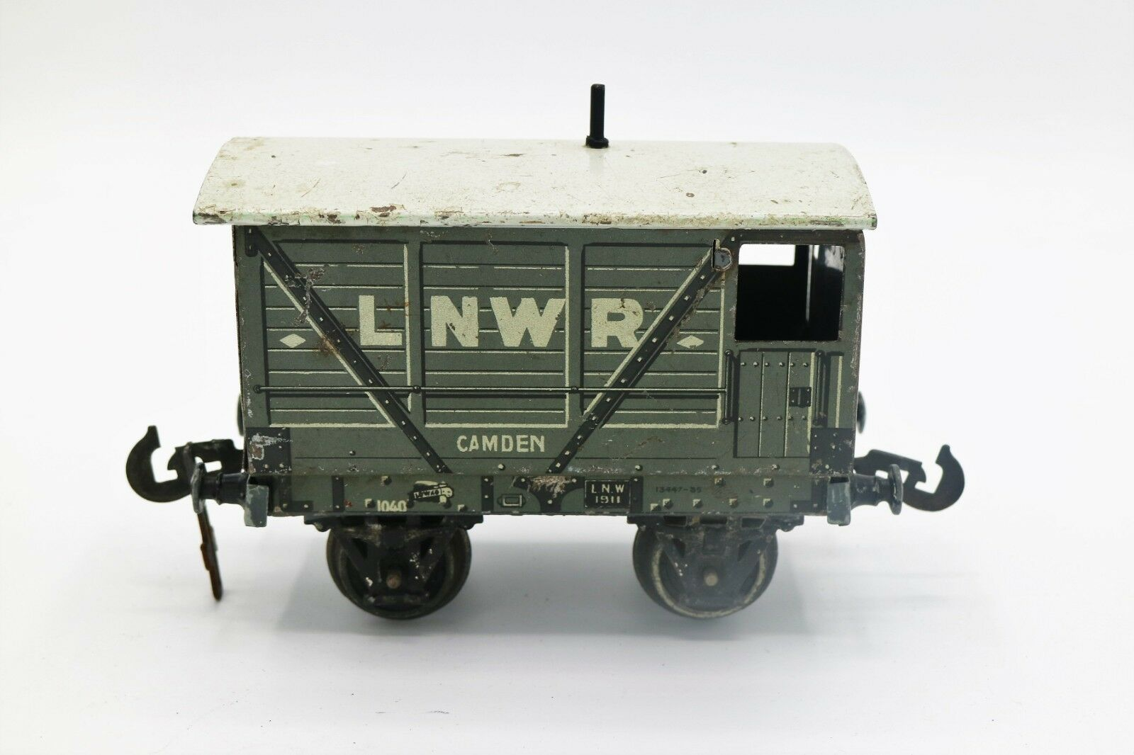 806A:Vintage Original Carette for Bassett Lowke  O Gauge  Camden  LNWR Brake Van