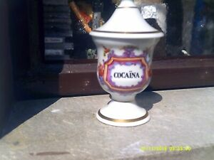2 X Apothergefäße Cocain Arsen Pharmacy Apothecary Einen Einzigartigen Nationalen Stil Haben