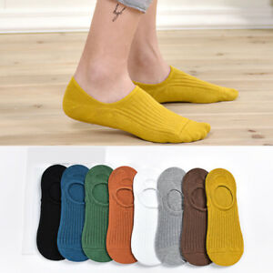 5-10-Pair-Mens-Cotton-Socks-Loafer-Boat-Invisible-No-Show-Low-Cut-Socks-Casual