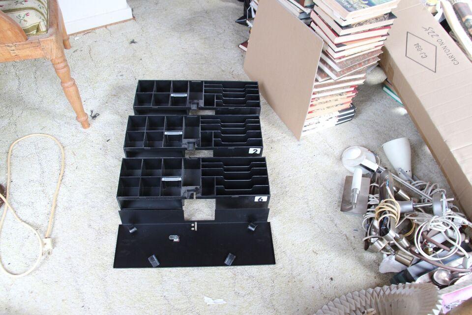 Pengebokse/kasser til kasseapparat