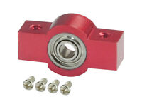 Microheli Aluminum Tail Drive Shaft Bearing Housing (r) For Mh Frame Blade 130x