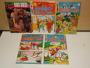 Vintage-lot-of-3-Archie-and-Me-Giant-Comic-Book-Magazine-039-s-1997-Betty-amp-Big-Red