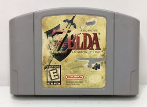 Nintendo-64-N64-The-Legend-of-Zelda-Ocarina-of-Time-Authentic-Cleaned-Tested