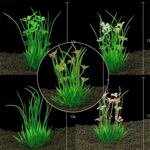 Artificial Fake Water Aquatic Green Plant Grass Lawn Aquarium Landscape SALE Fas