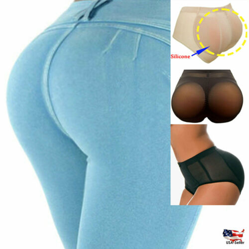 Best #1 Silicone Butt Pads Panties Shapewear Booty Enhancer Booster Padded Brief
