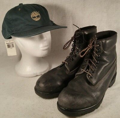 Timberland Black Leather Tactical