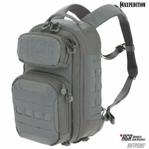 Maxpedition-RPTGRY-RIFTPOINT-CCW-Enabled-Backpack-Gray
