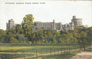 Image Is Loading The Castle From Home Park WINDSOR Berkshire