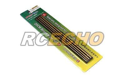 Cordiale Trumpeter Model Craft Master Tools 20cm Brass Pipe Set 6 (4pcs) 09947 P9947 Il Prezzo Rimane Stabile
