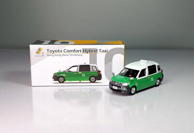 OCT 2020 Toyota Comfort Hybrid HK HONG KONG Taxi Model 1 1//64
