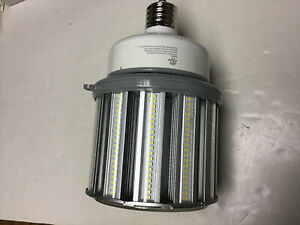 Satco 100w Led Hid 400w Replacement 5000k Mogul Base 100 277v S9396 Used 6mo Ebay