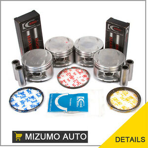 92-96-2-3L-Honda-Prelude-DOHC-Pistons-w-Ring-Set-Main-Rod-Bearings-H23A1