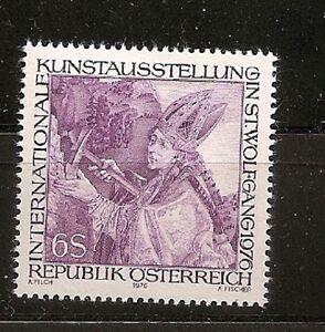Österreich 1976, Nr 1515 Kuntstausstellung St. Wolfgang postfrisch (mnh) - Hamburg, Deutschland - Österreich 1976, Nr 1515 Kuntstausstellung St. Wolfgang postfrisch (mnh) - Hamburg, Deutschland