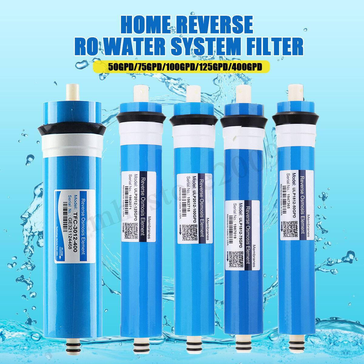TAOEE Reverse Osmosis 3012-400G Membrane Water Filter Cartridges Replacement 400 GPD RO Membrane Water Filter System